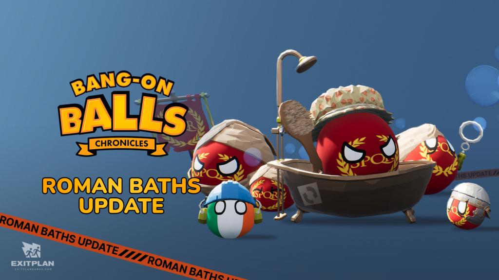 Bang-on Balls: Chronicles Roman Baths Update is rolling out!